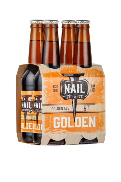 Nail Golden 4pk