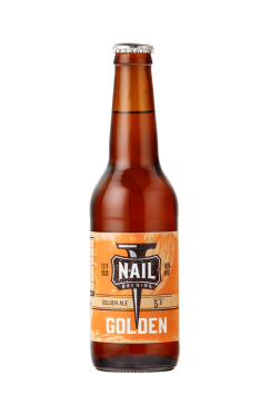 Nail Golden Bottle