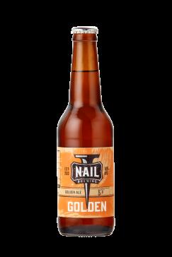 Nail Golden Bottle