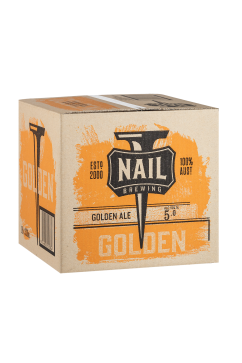 Nail Golden Cube