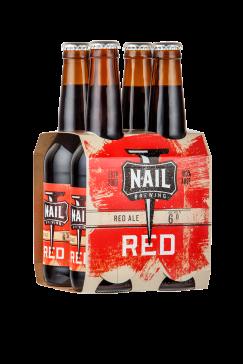 Nail Red 4pk