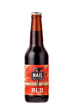 Nail Red Bottle