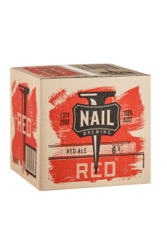 Nail Red Cube