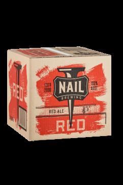 Nail Red Cube